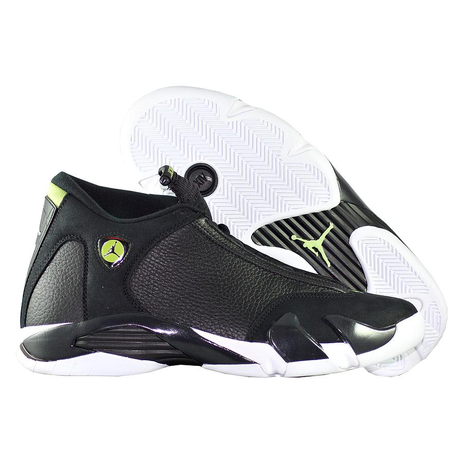 Кроссовки JordanКроссовки баскетбольные Air Jordan 14 (XIV) Retro quot;Indigloquot;<br><br>Цвет: Чёрный<br>Выберите размер US: 8