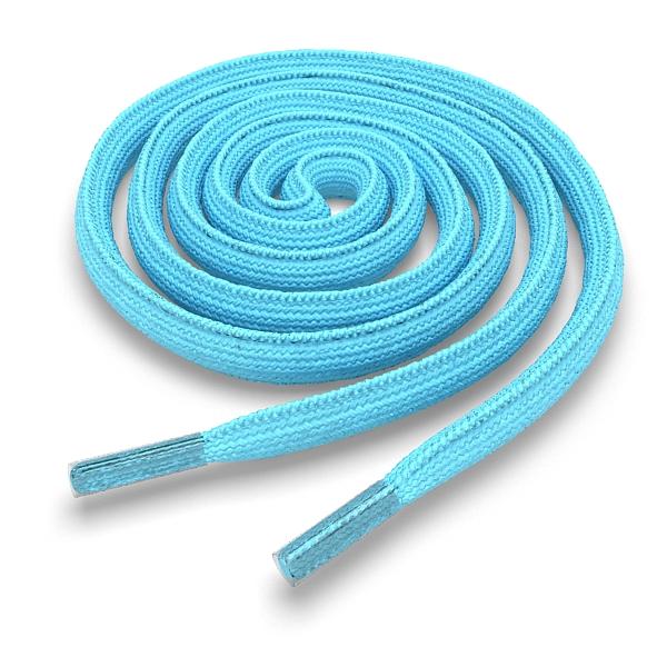 Другие товары Kickz4U.ruШнурки овальные бирюзовые 120 см<br><br>Цвет: Голубой<br>Выберите размер US: 1SIZE