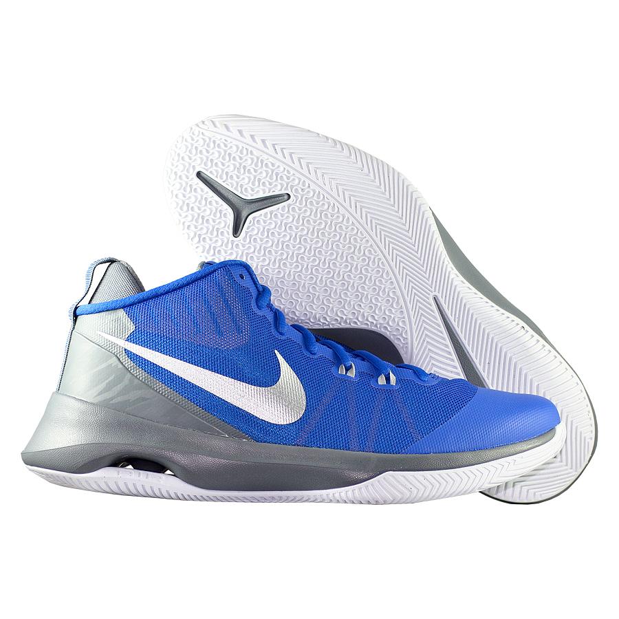 Кроссовки NikeКроссовки баскетбольные Nike Air Versatile<br><br>Цвет: Синий<br>Выберите размер US: 15