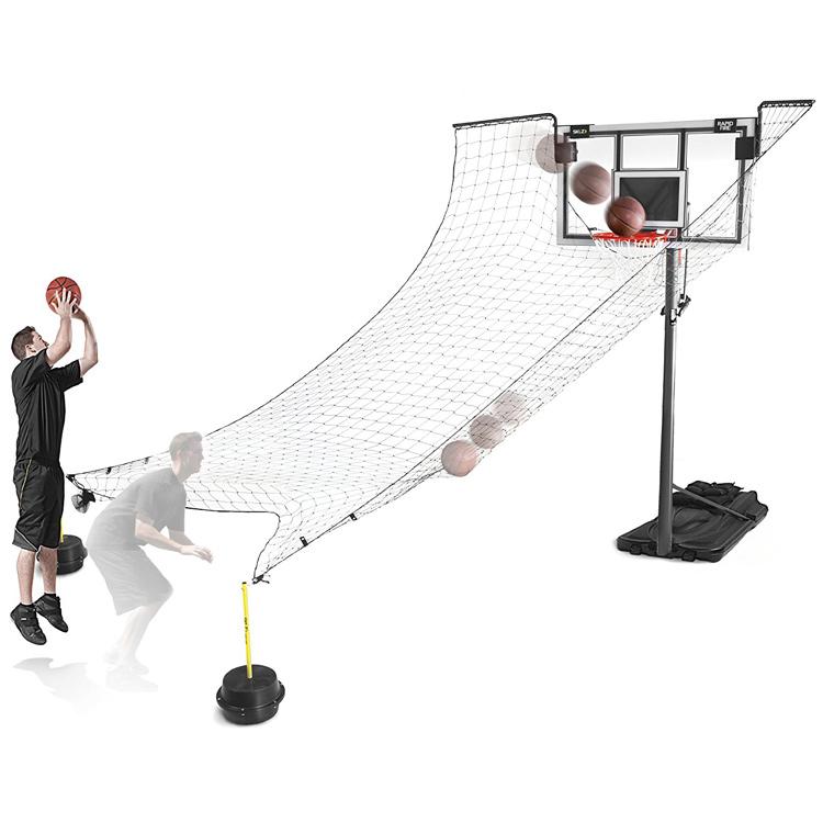 Другие товары SKLZСистема возврата мячей SKLZ Rapid FireОчки баскетболиста Court Vision предназначены для тренировки контроля мяча и всей игровой площадки<br><br>Цвет: Чёрный<br>Выберите размер US: 1SIZE
