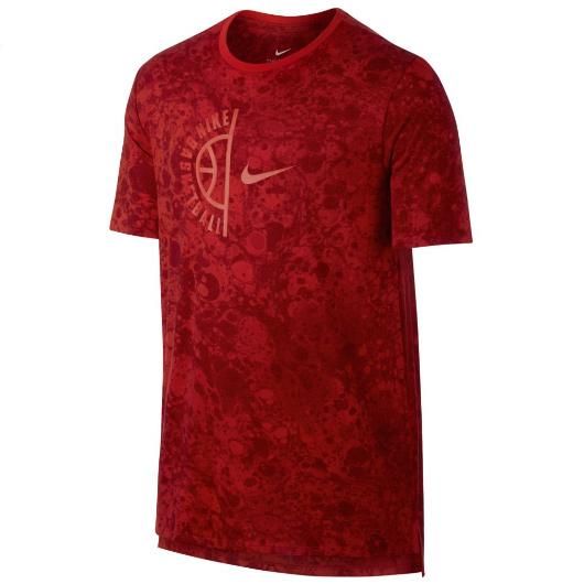 Другие товары NikeФутболка Nike Dry Tee Swoosh ArchФутболка Nike из коллекции Kobe Bryant. Состав - 58% хлопок, 42% полиэстер.<br><br>Цвет: Красный<br>Выберите размер US: M|L|XL