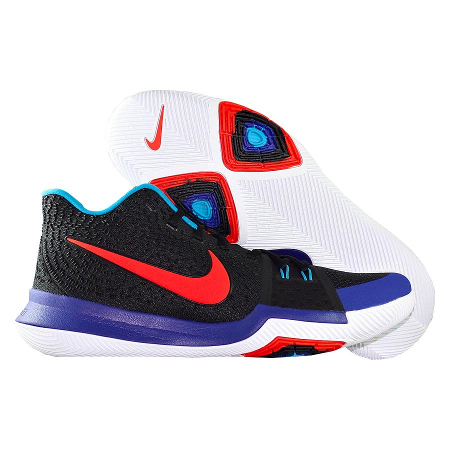 Кроссовки NikeКроссовки баскетбольные Nike Kyrie 3 quot;Kyrache Lightquot;<br><br>Цвет: Мульти<br>Выберите размер US: 12