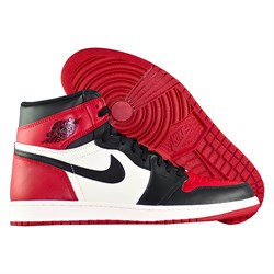 Купить Кроссовки Air Jordan 1 Retro High OG Bred Toe-1