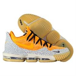 a8d6837e Купить Баскетбольные кроссовки Nike LeBron 16 Low x ATMOS Safari-1