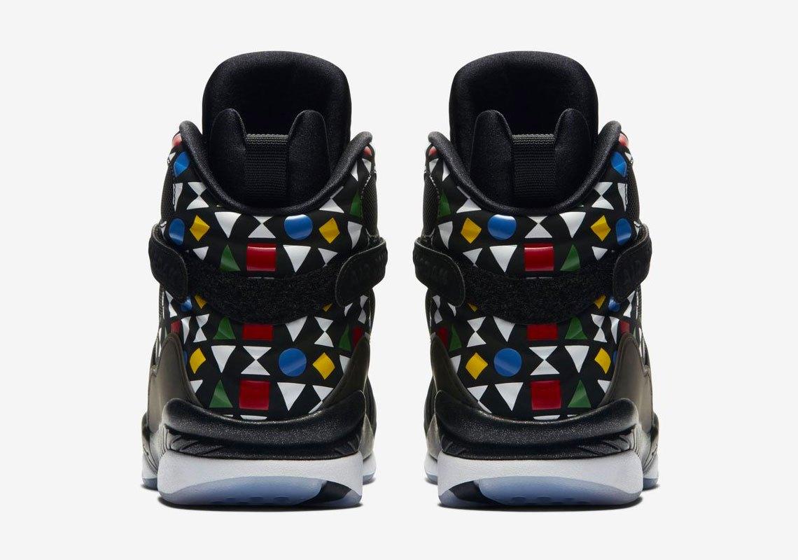 Официальные снимки Air Jordan 8 Quai 54